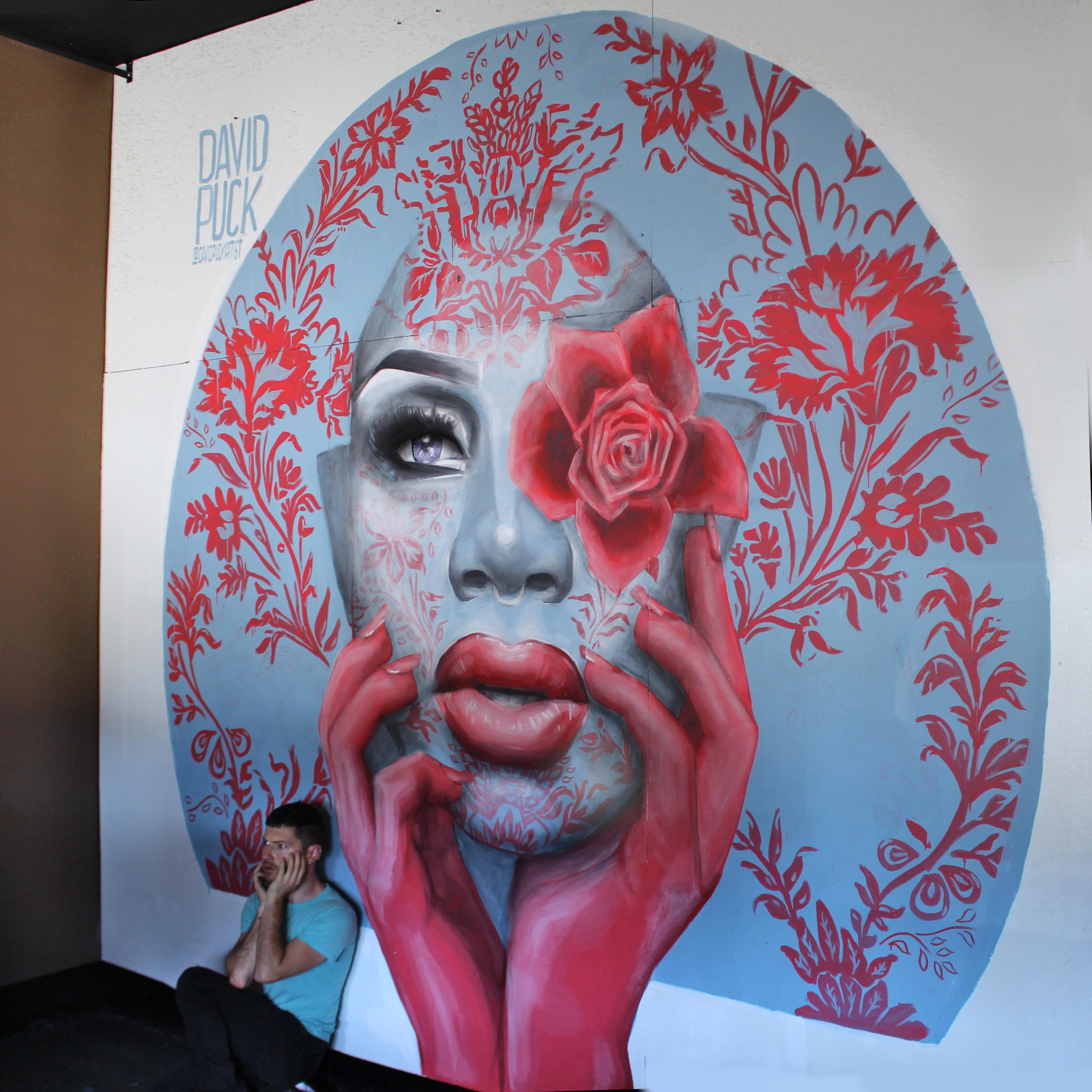 Monet X Change Drag Queen Street Art Mural North Hollywood Los Angeles California